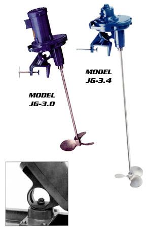 Gear Drive Portable Mixers From Neptune Mixer Company